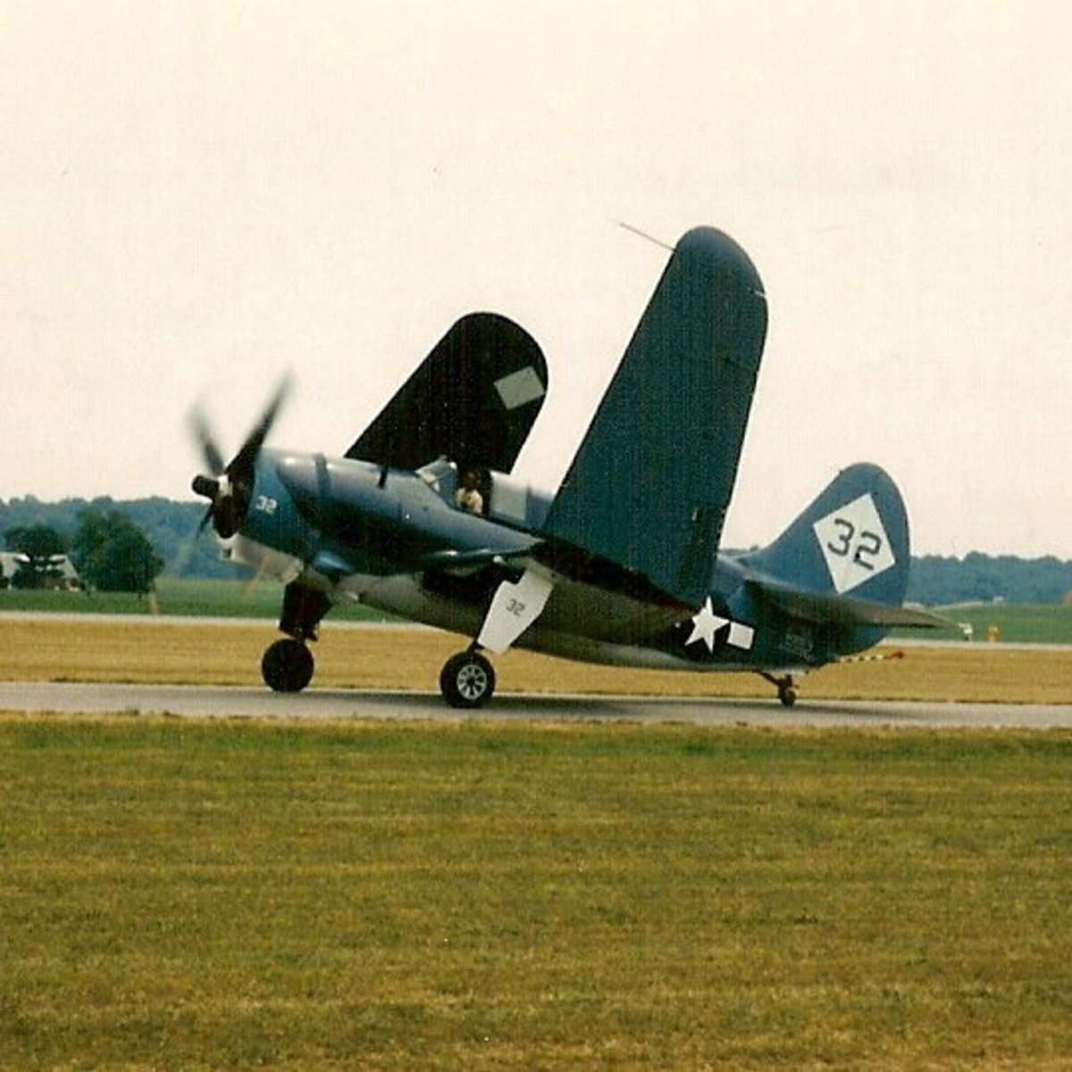 A Commemorative Air Force TBF Avenger.