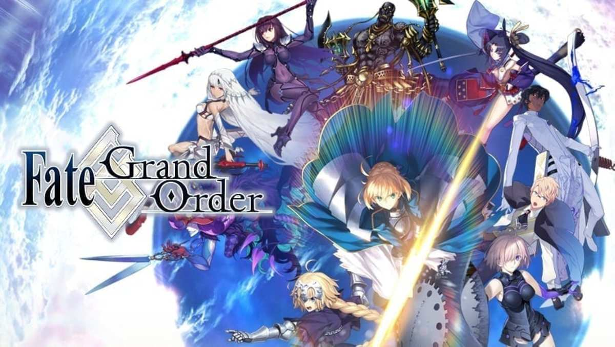 The official art of Fate/Grand Order.