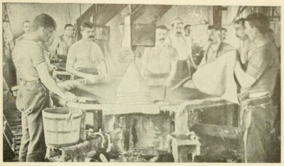 The milliners of Danbury, the hat-producing capital of the United States