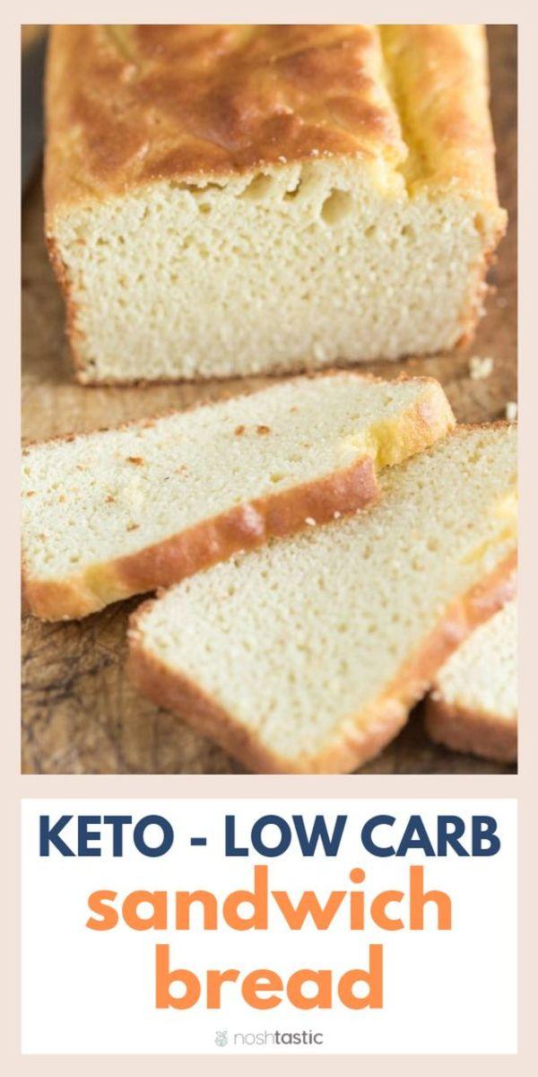 The best low carb sandwich bread, fine tuned by noshtastic.com
