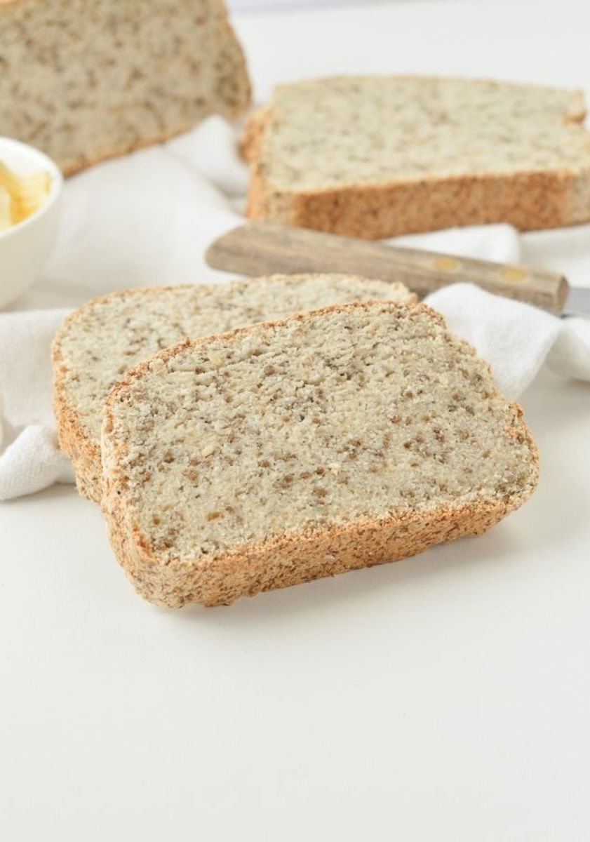 The number one keto bread recipe saved on Pinterest is by sweetashoney.co abd comes in an egg free version.
