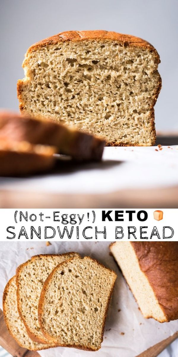 This delicious bread alternative from gnom-gnom.com does not taste eggy.