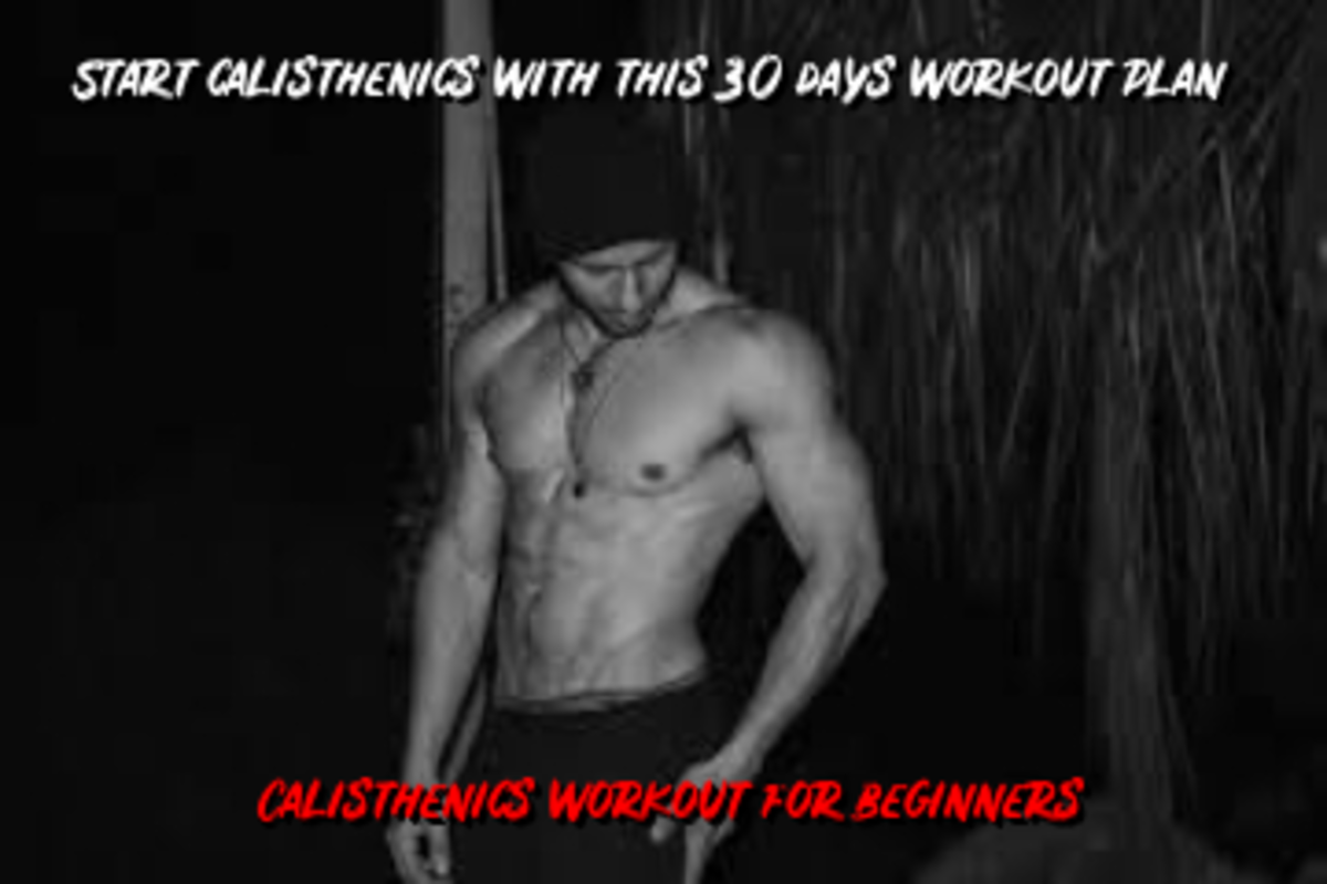 Start Calisthenics With This 30 Days Workout Plan