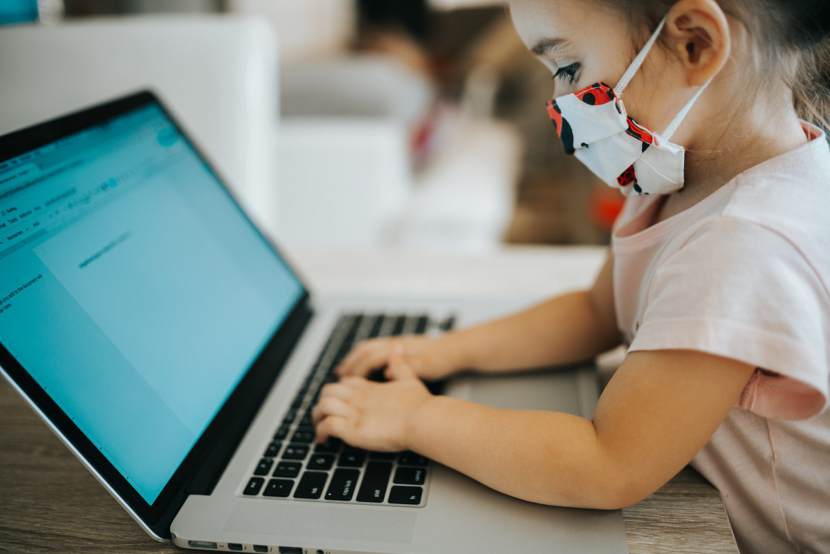 Both young and old face the challenges of online education in this time of a global pandemic.