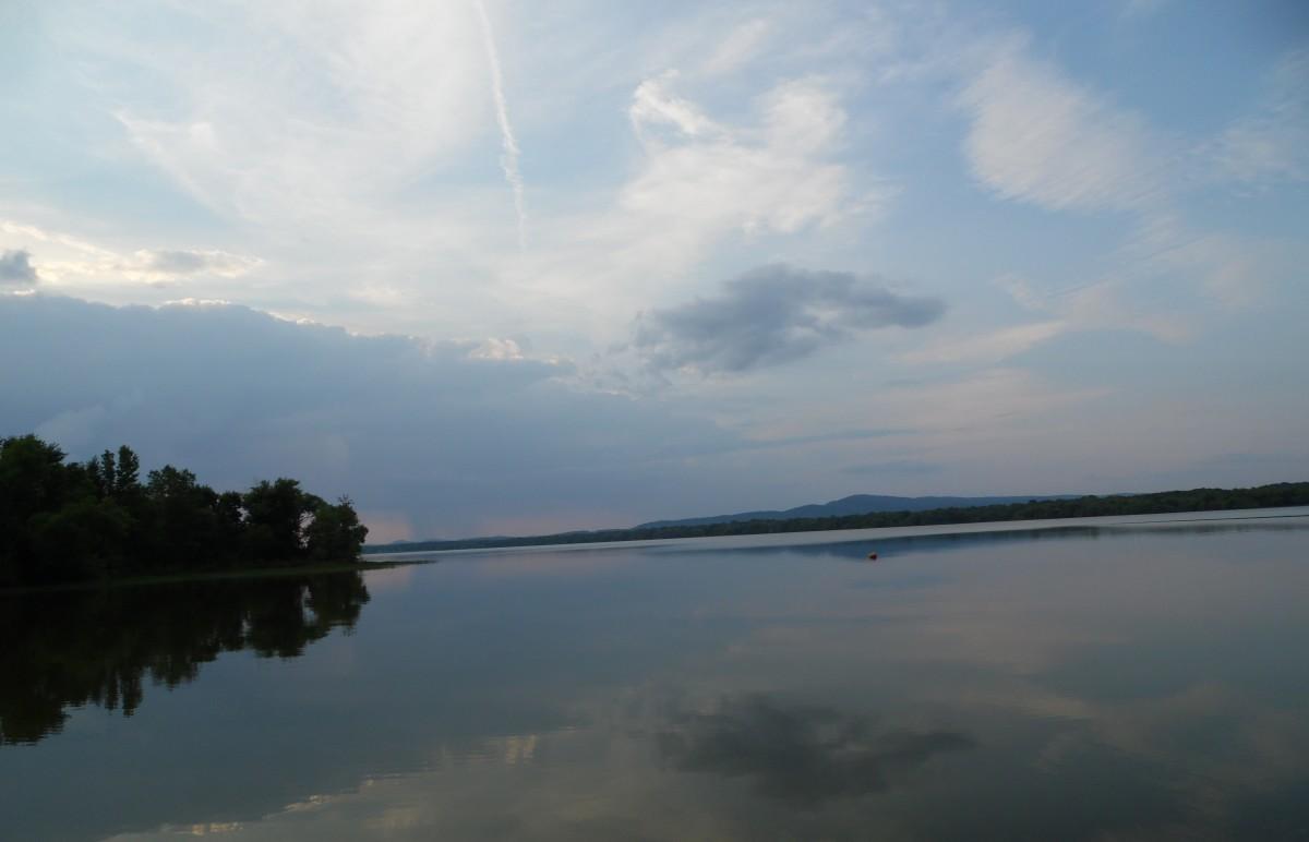 Summer time at Weiss Lake Alabama.