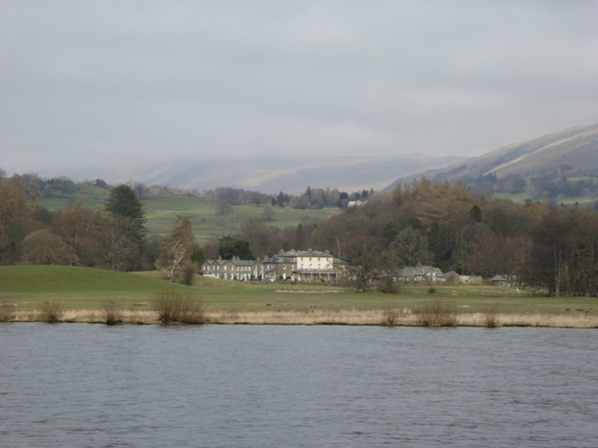 Calgarth Park and Windermere