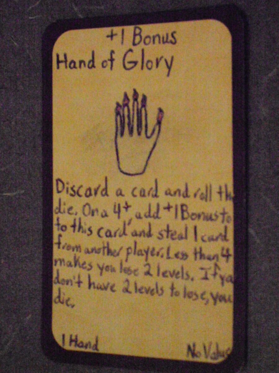 Custom Card Ideas: Hand of Glory