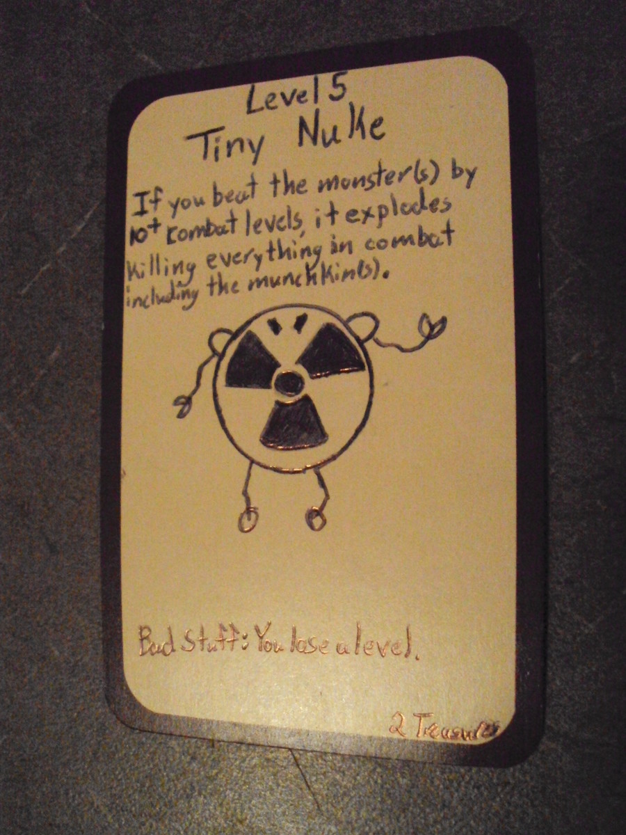 Custom Card Ideas: Tiny Nuke