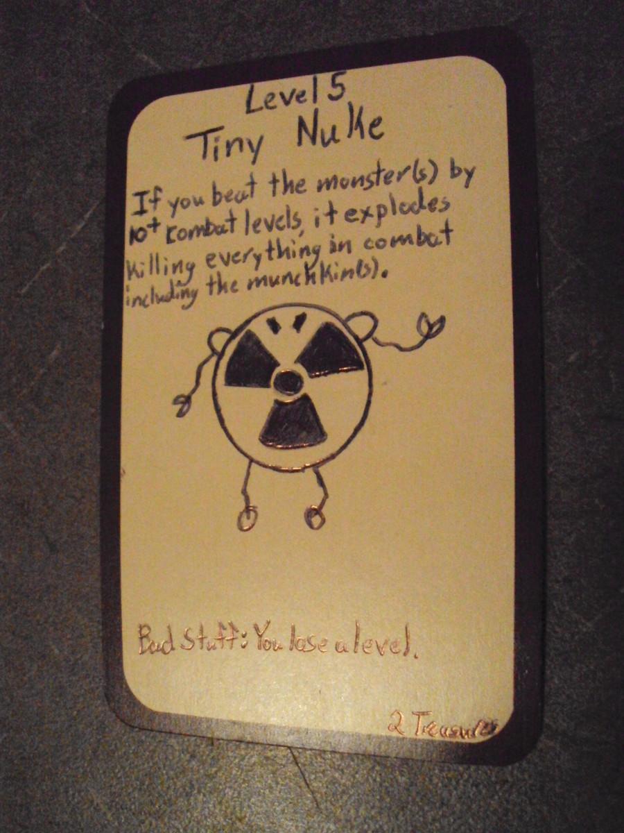 Custom Card Ideas: Tiny Nuke