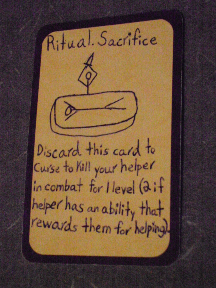 Custom Card Ideas: Ritual Sacrifice