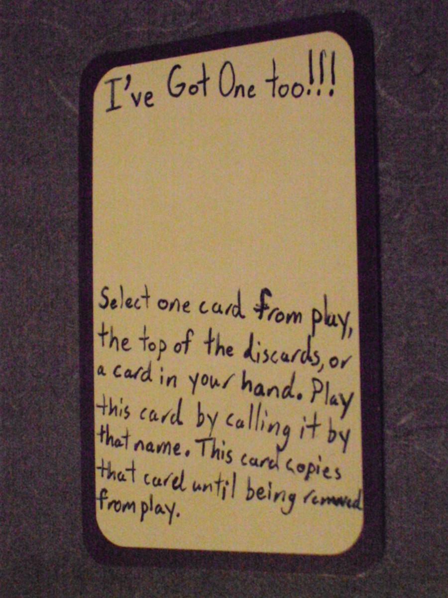 Custom Card Ideas: I've Got One Too!