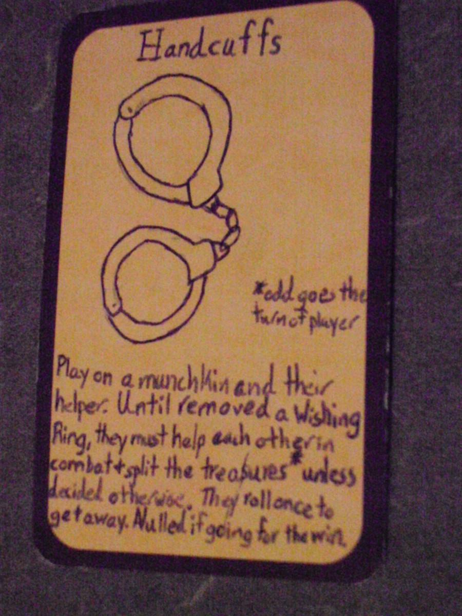 Custom Card Ideas: Handcuffs