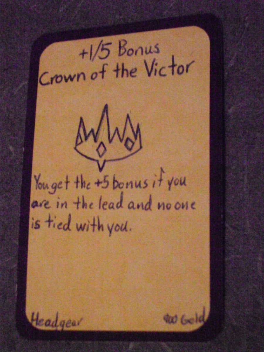 Custom Card Ideas: Crown of the Victor