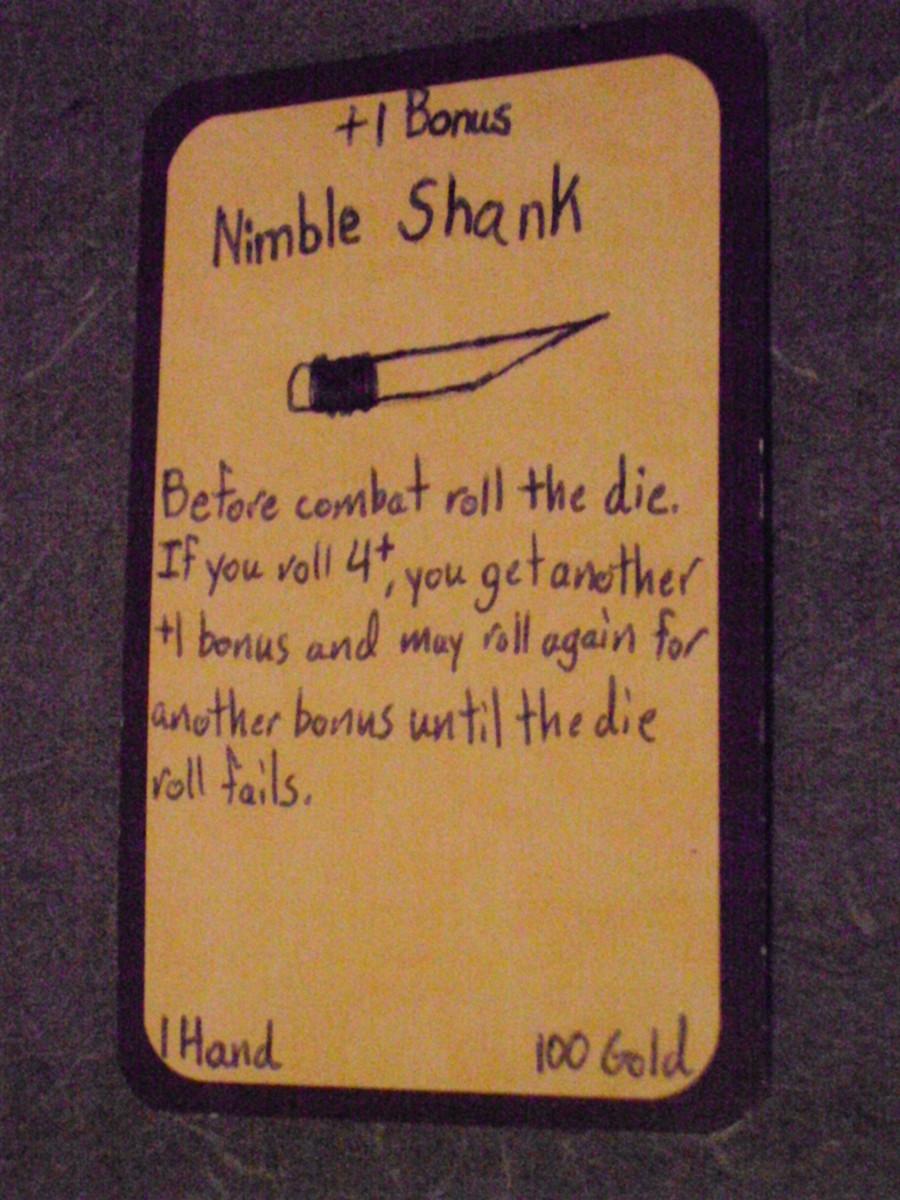 Custom Card Ideas: Nimble Shank