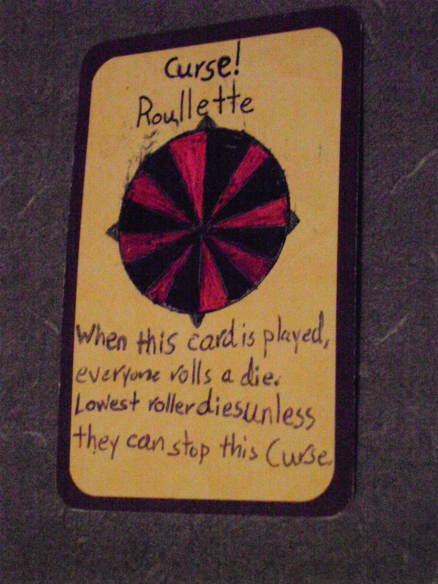 Custom Card Ideas: Roullette!