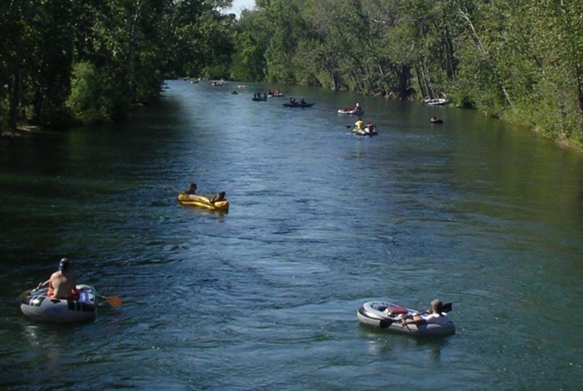 Fishing the Boise River, Idaho