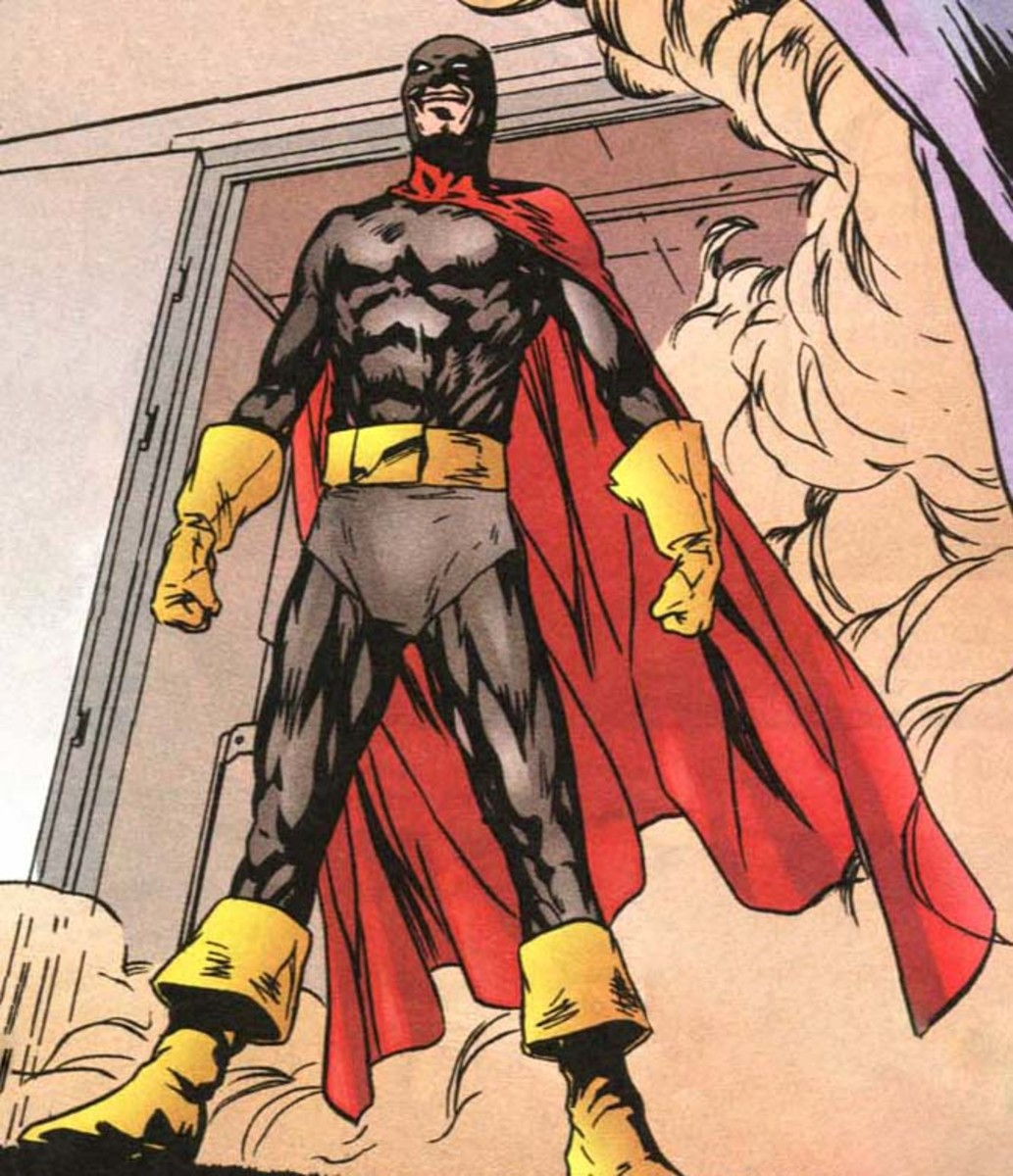 Black Marvel got his start in 1941