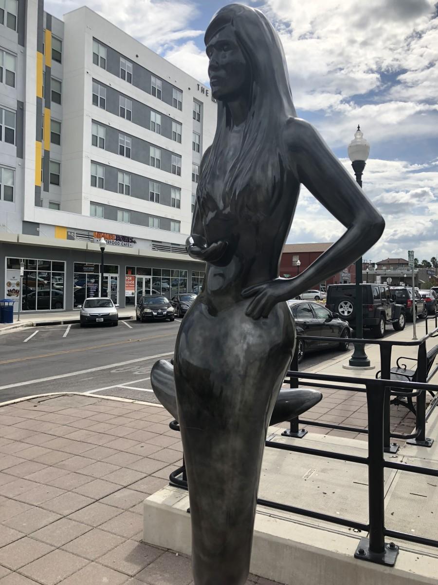 Statue 5 @ Hutchinson St./Edward Gary St.