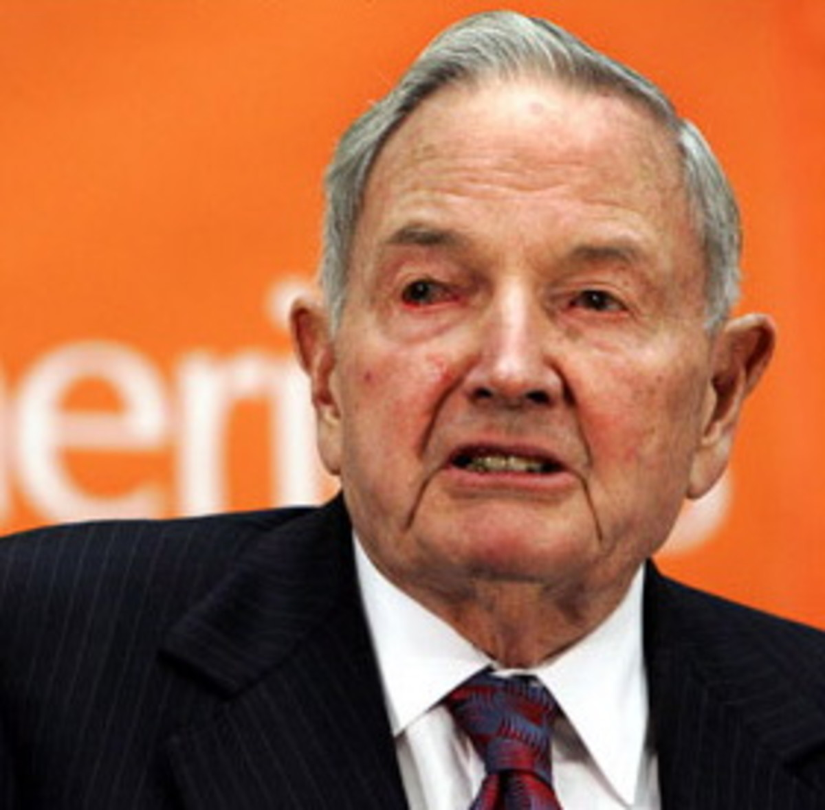 The infamous David Rockefeller!
