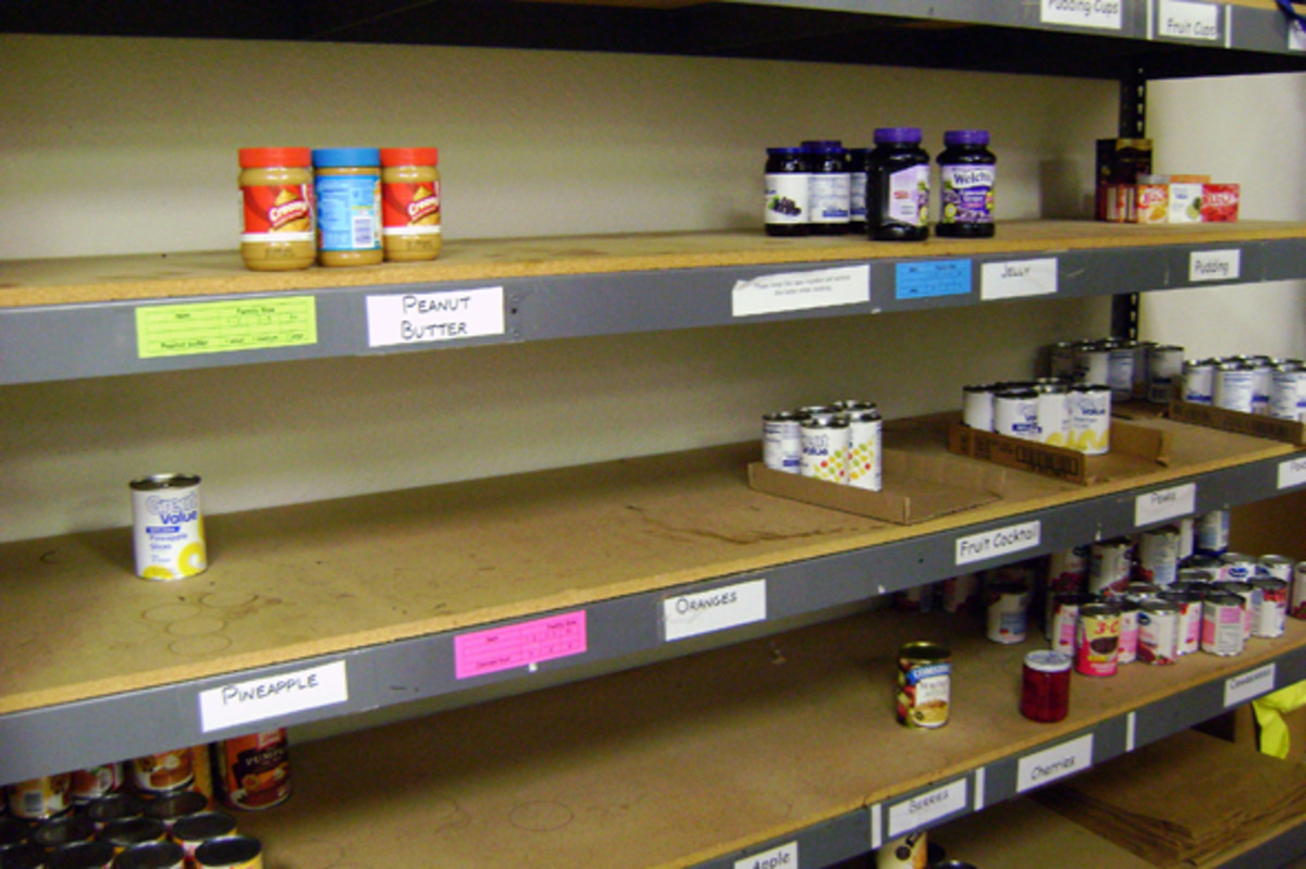 If you are able to donate to your local food pantries, please do so.  There are children that go to bed every night without enough food!