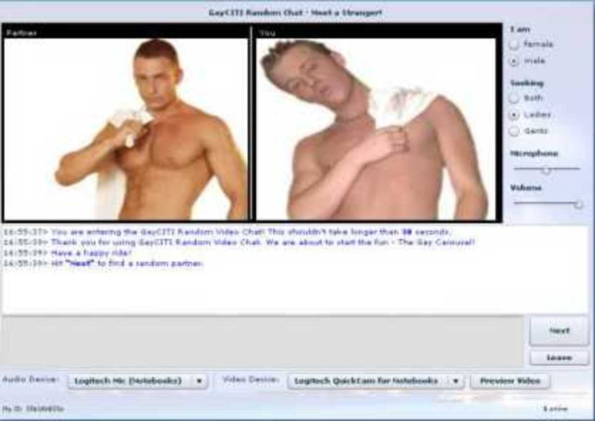 Free online gay webcam chat
