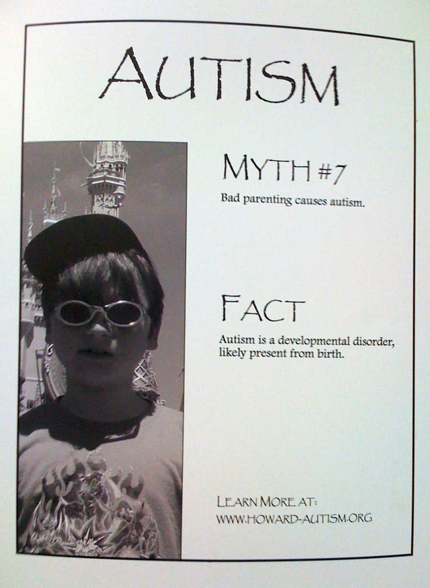 Think about that the next time you want to inform everyone to use condoms just because an autistic child melts down.