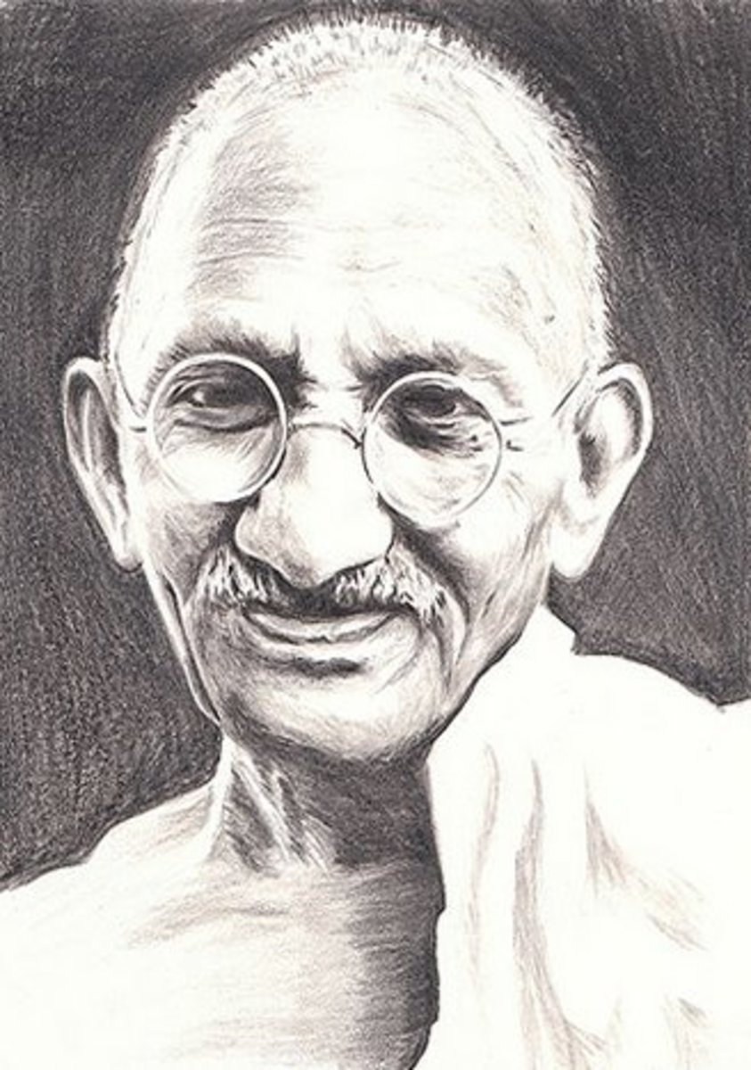 Mahatma Gandhi Kids Colouring Pictures to Print-and-Colour - Childhood Education Programs