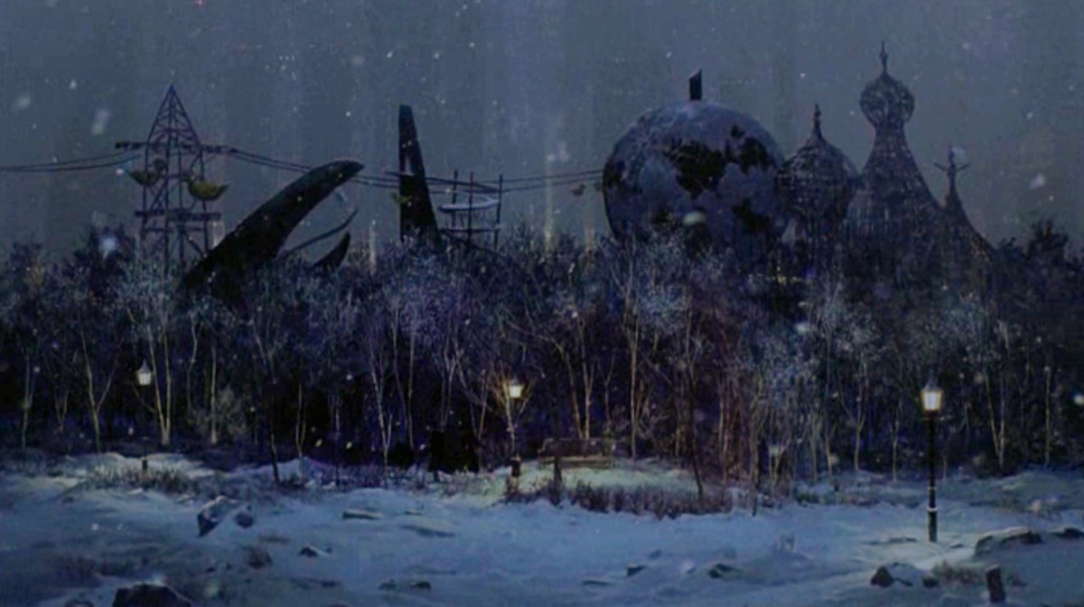 Burton's Gotham City Zoo (Batman Returns)