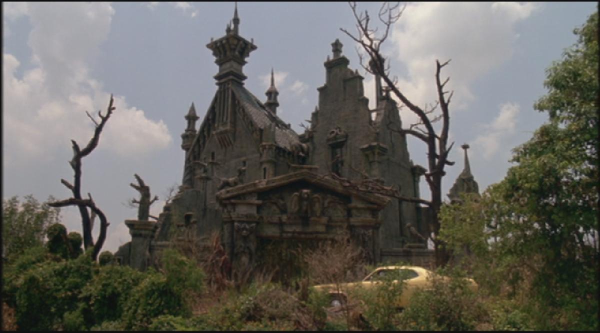 Edward's dark yet friendly home