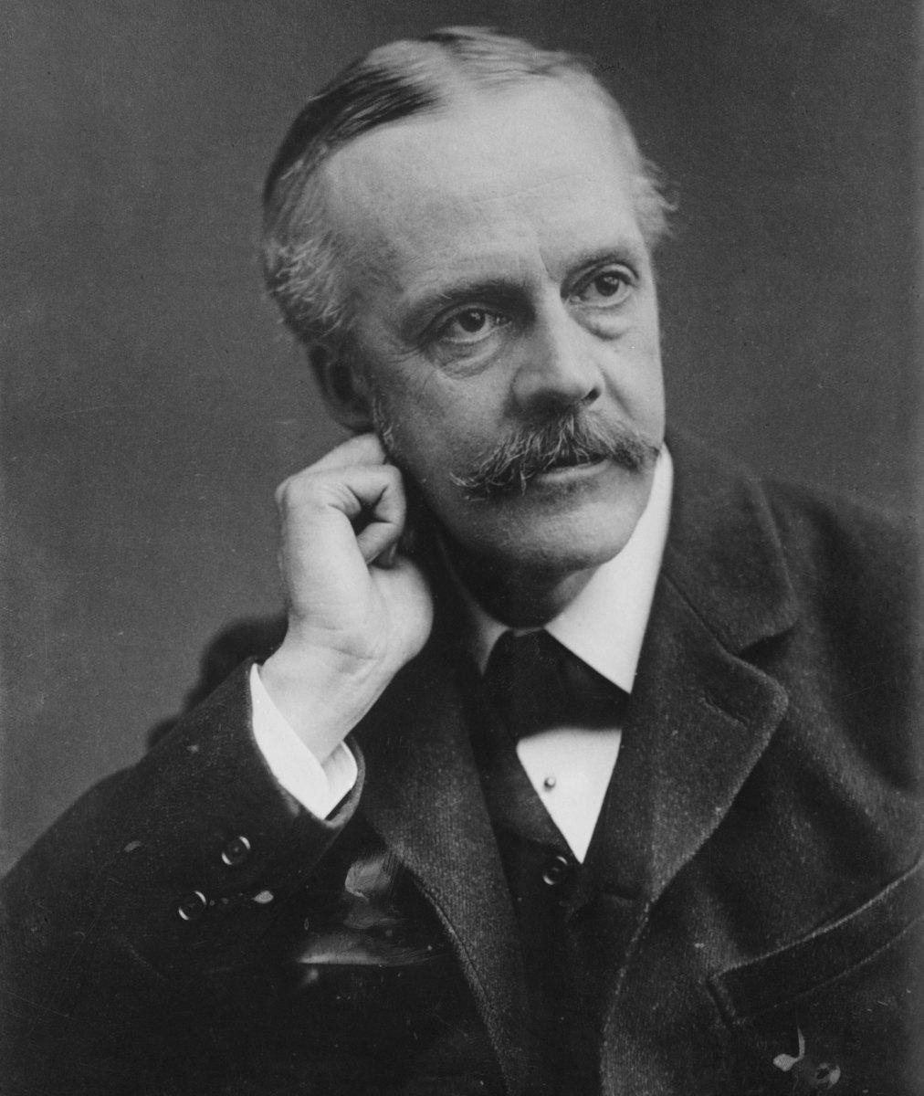 Arthur Balfour. The author of The Balfour Declaration.