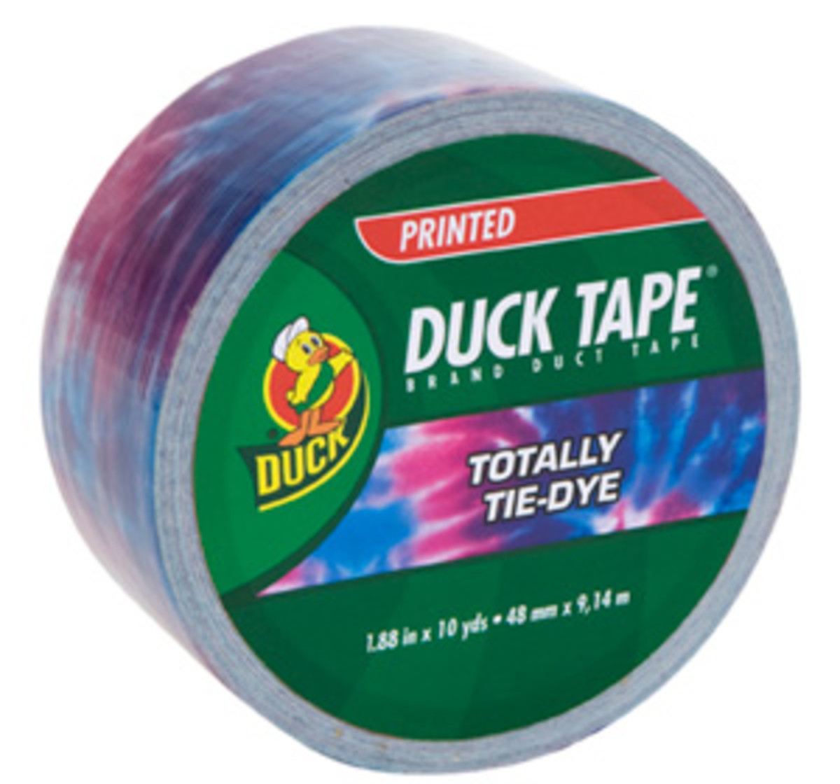Totally Tie Dye Duck Tape(R) duct tape for crafters