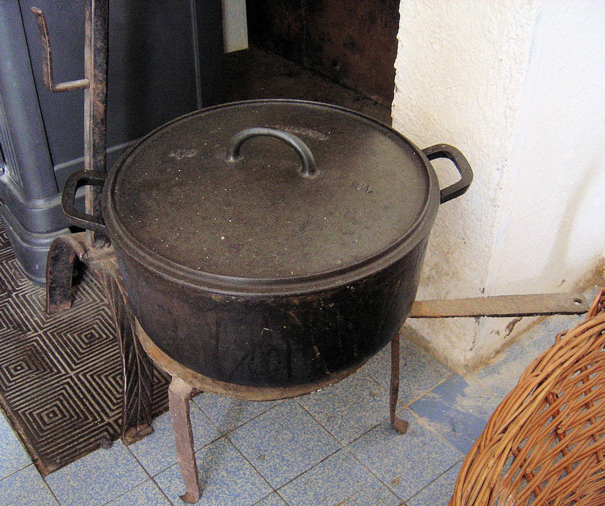 My favourite casserole pot.