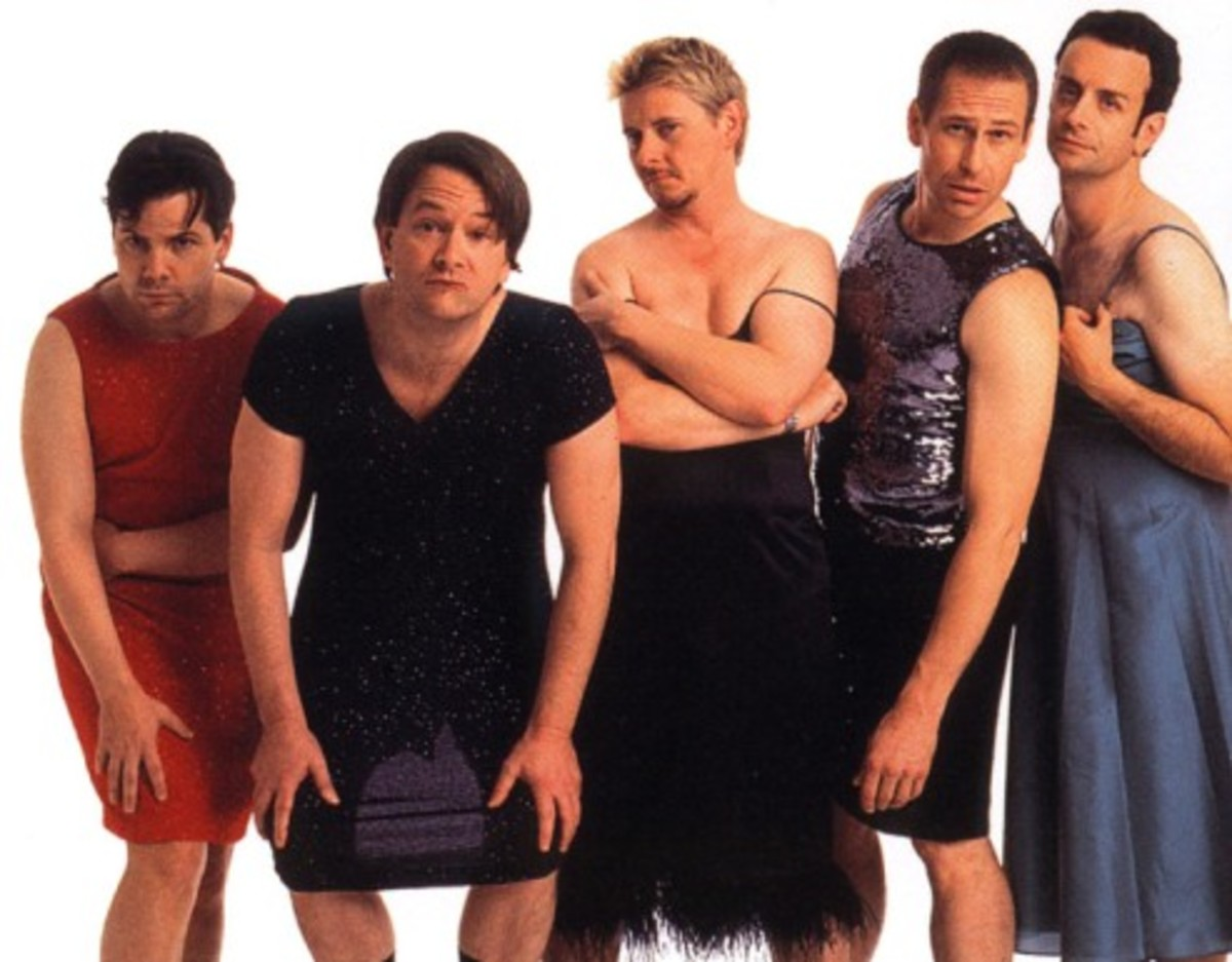 Canadian Comedy Troupe Kids in the Hall.