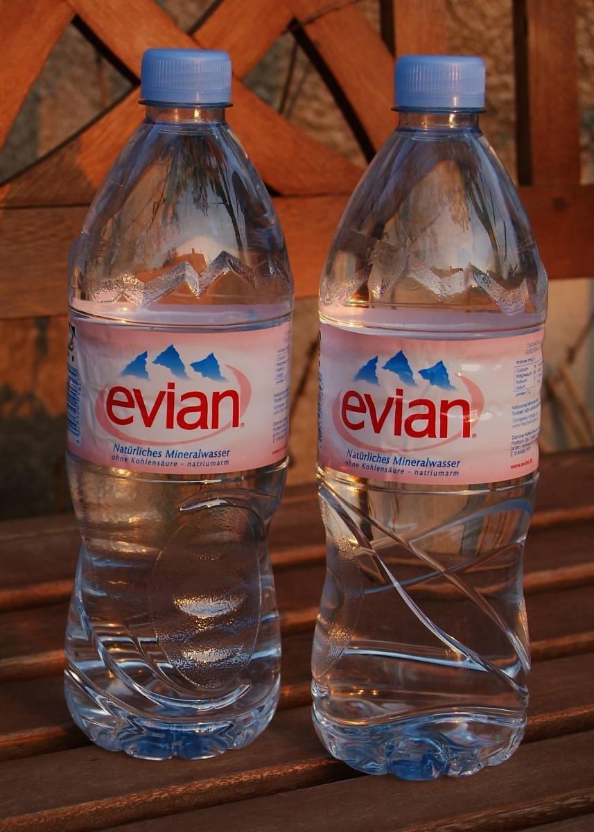 "You know what ""Evian"" spells backwards, right? That's right."
