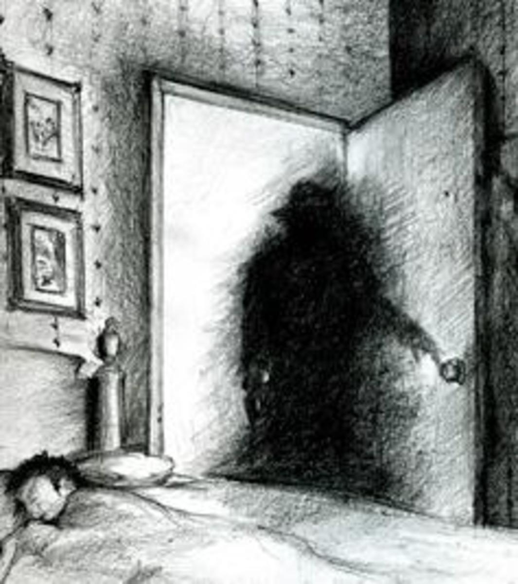 Have you ever seen shadow people? If so, please post a comment below.