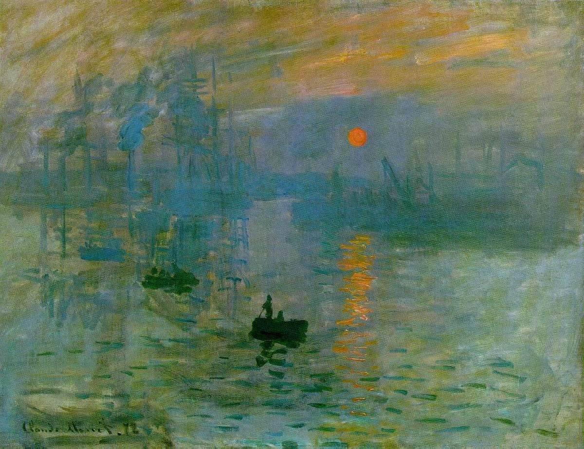 'Impression, Sunrise' is the painting that gave the whole Impressionist group their name. While critics used it as a derivative, the Impressionists liked it.
