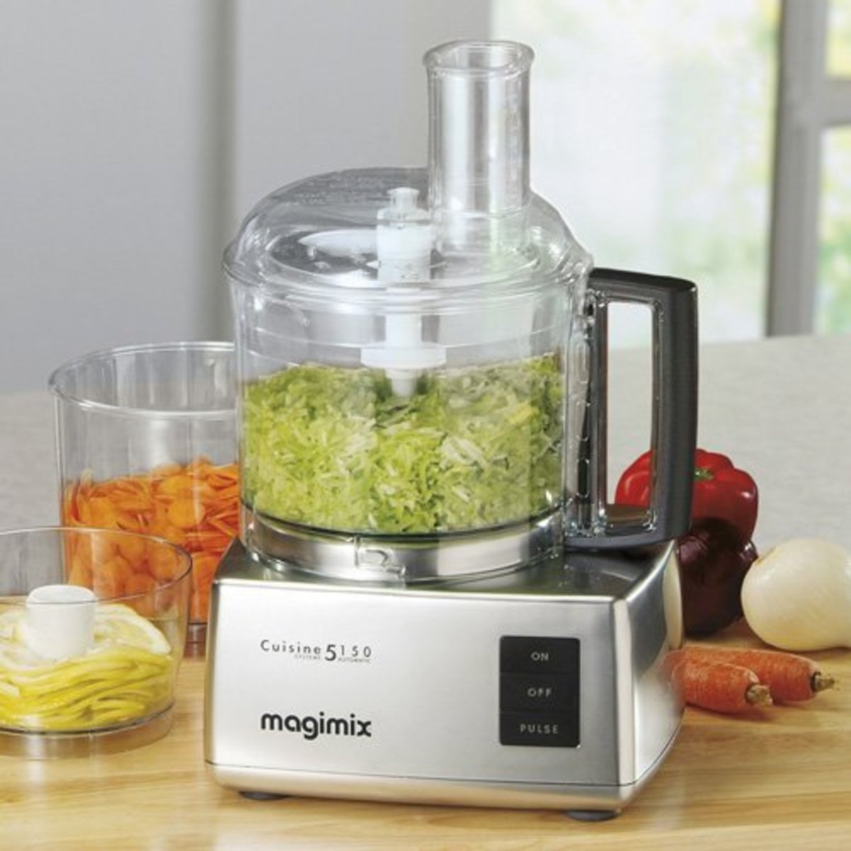 Magimix Cuisine Systeme 5150 food processor in chrome