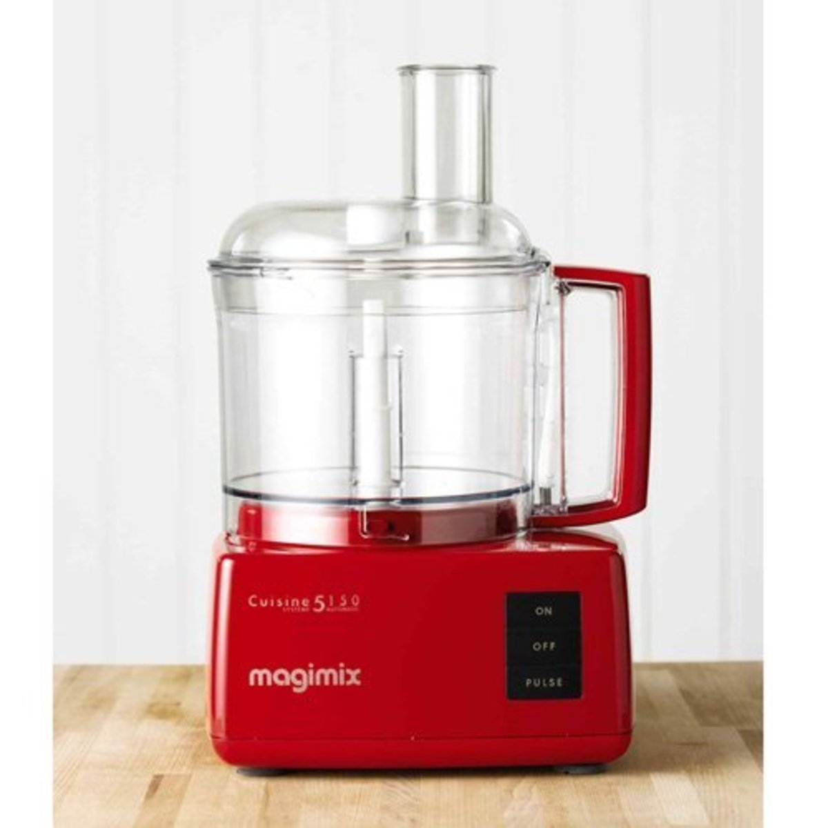 Magimix Cuisine Systeme 5150 food processor in red