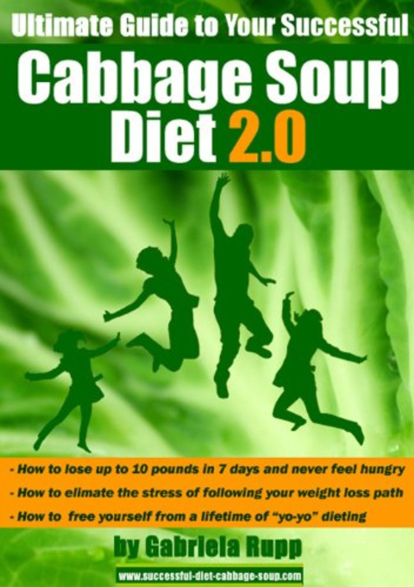 I have tried this diet and it had worked for me. The soup is delicious. Just click on the link source to view the book. Available in Kindle and paperback.