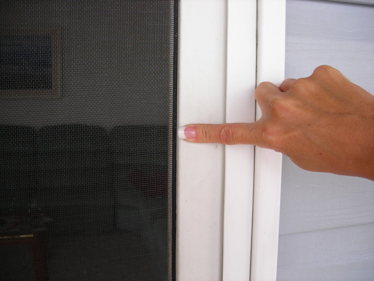 How To Repair Replace Screen Door Screens