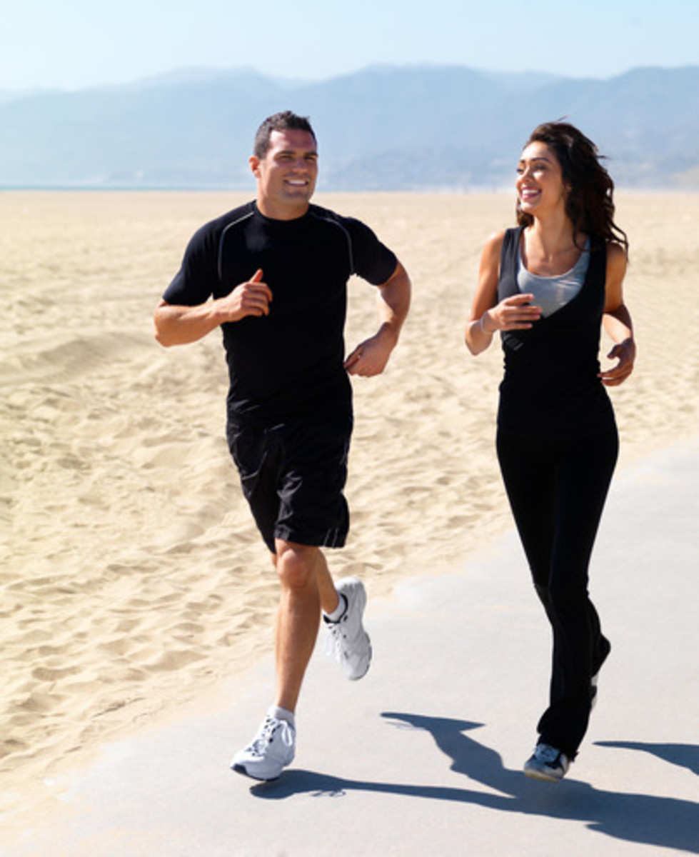 Cardio such as jogging will help you lose 10 pounds in a week