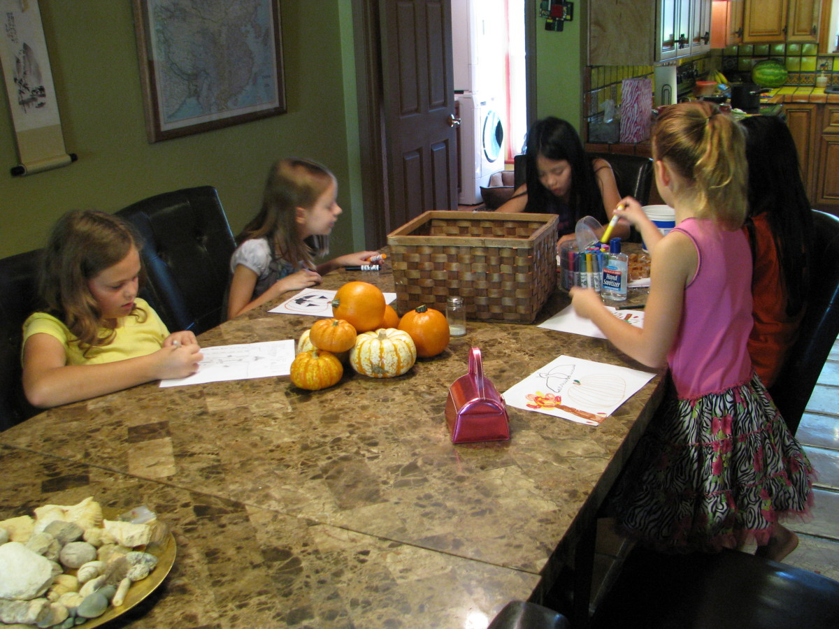 You can even do writing if you homeschool your kids.