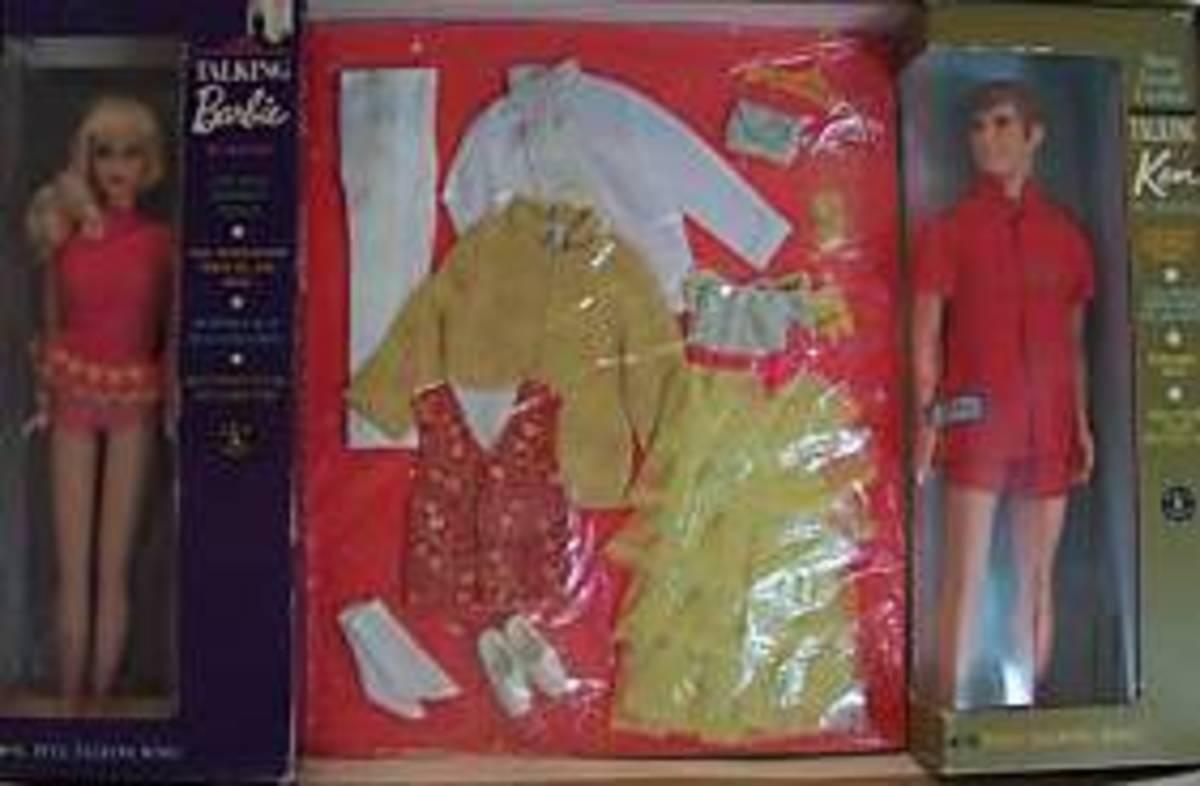 Talking Barbie and Ken Fabulous Formal Gift Set