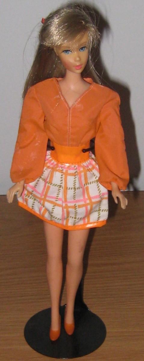Barbie in Tangerine Scene