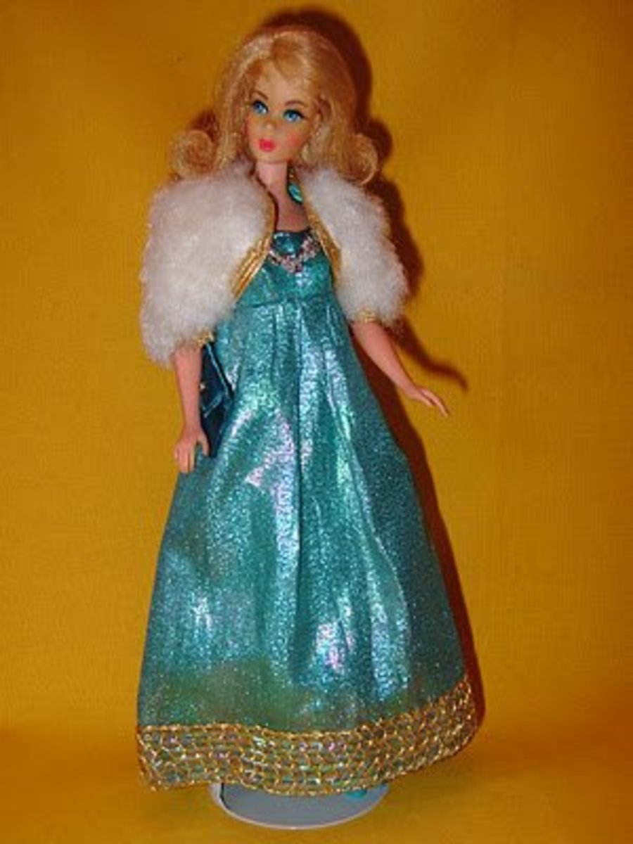 Barbie in Blue Royalty