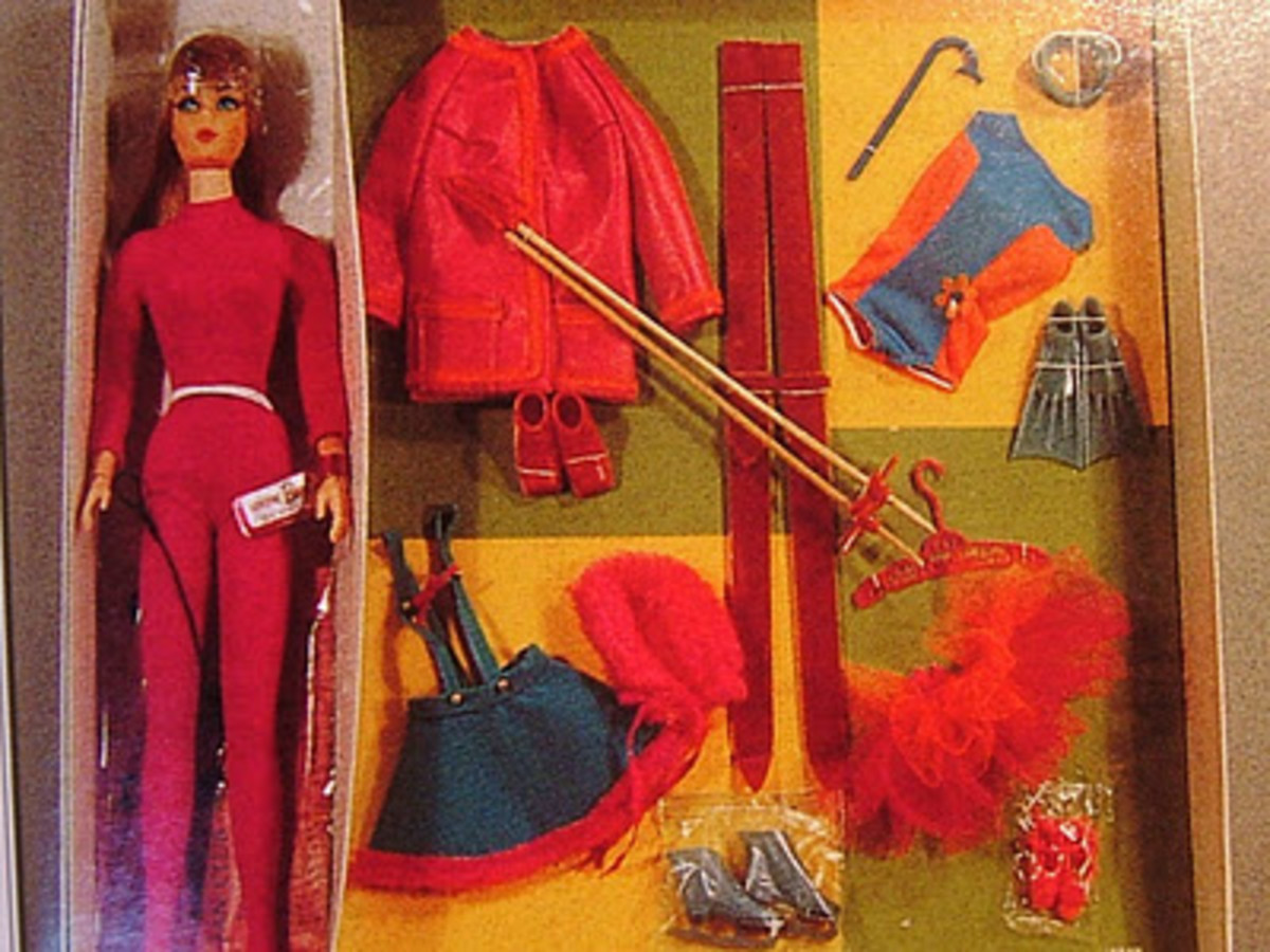 Living Barbie Action Accents Set