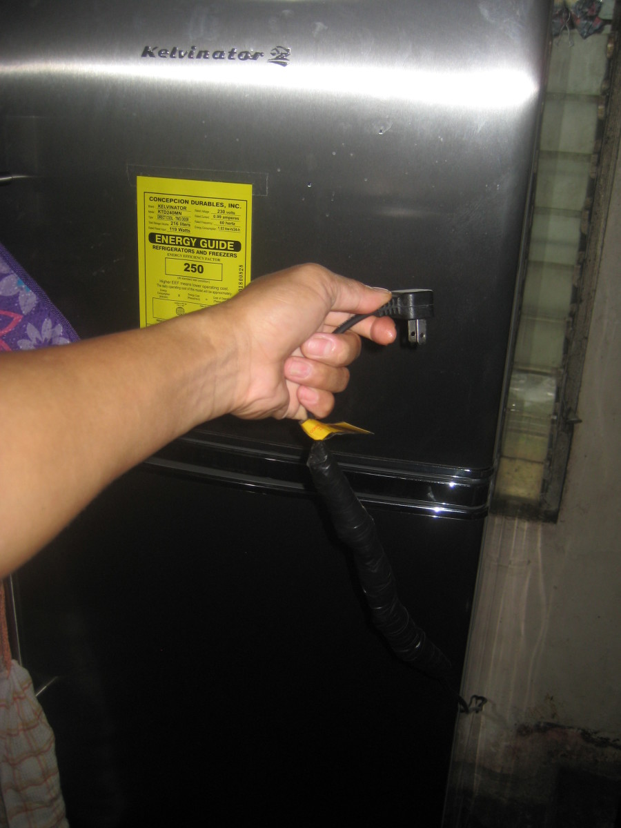 5. The sealed coffee will last for 6 months before you change it with new batch. (All photos by Travel Man (June 7, 2012)