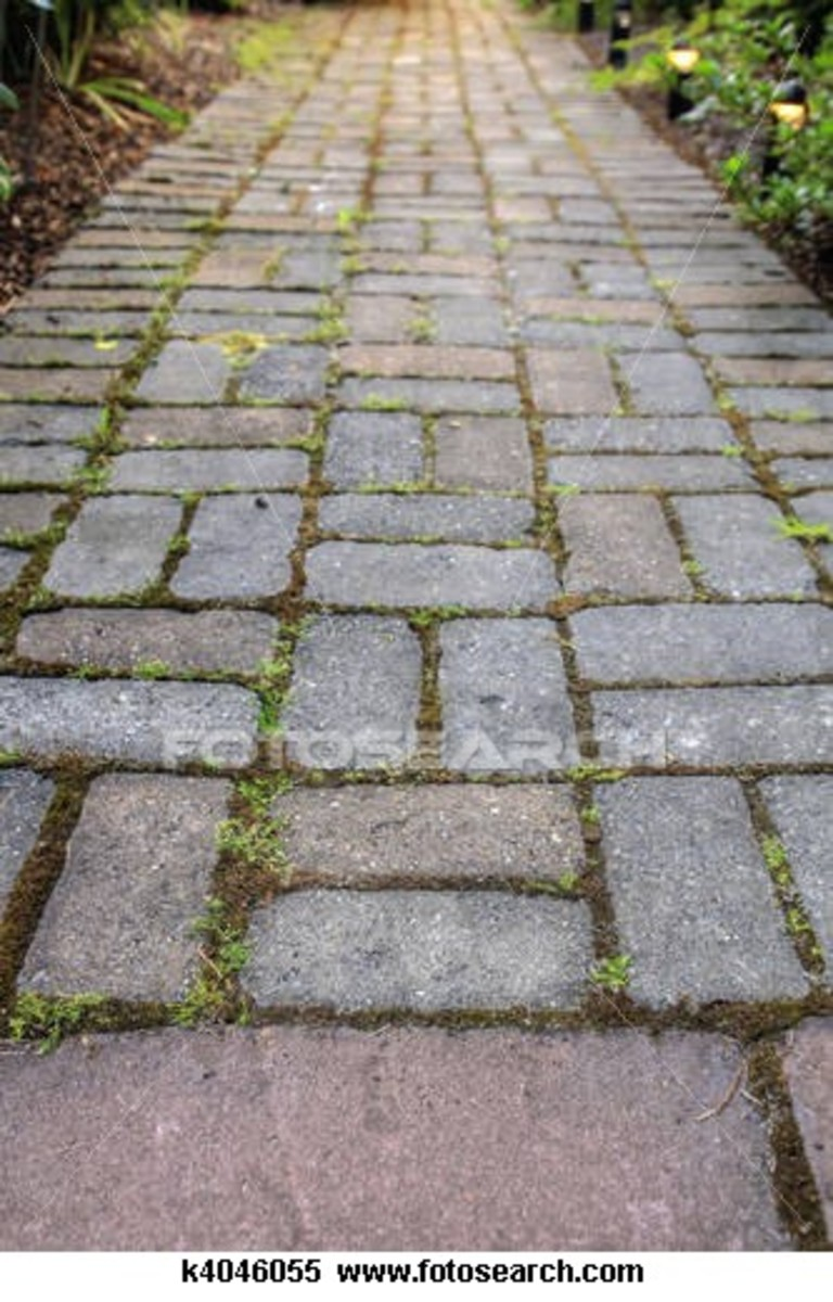 Do It Yourself Patios   How To Build An Easy, Low Budget Patio Or Stone  Walkway