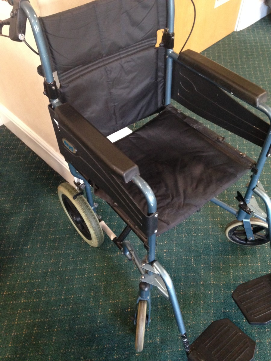 Wheelchair without Pressure Cushion