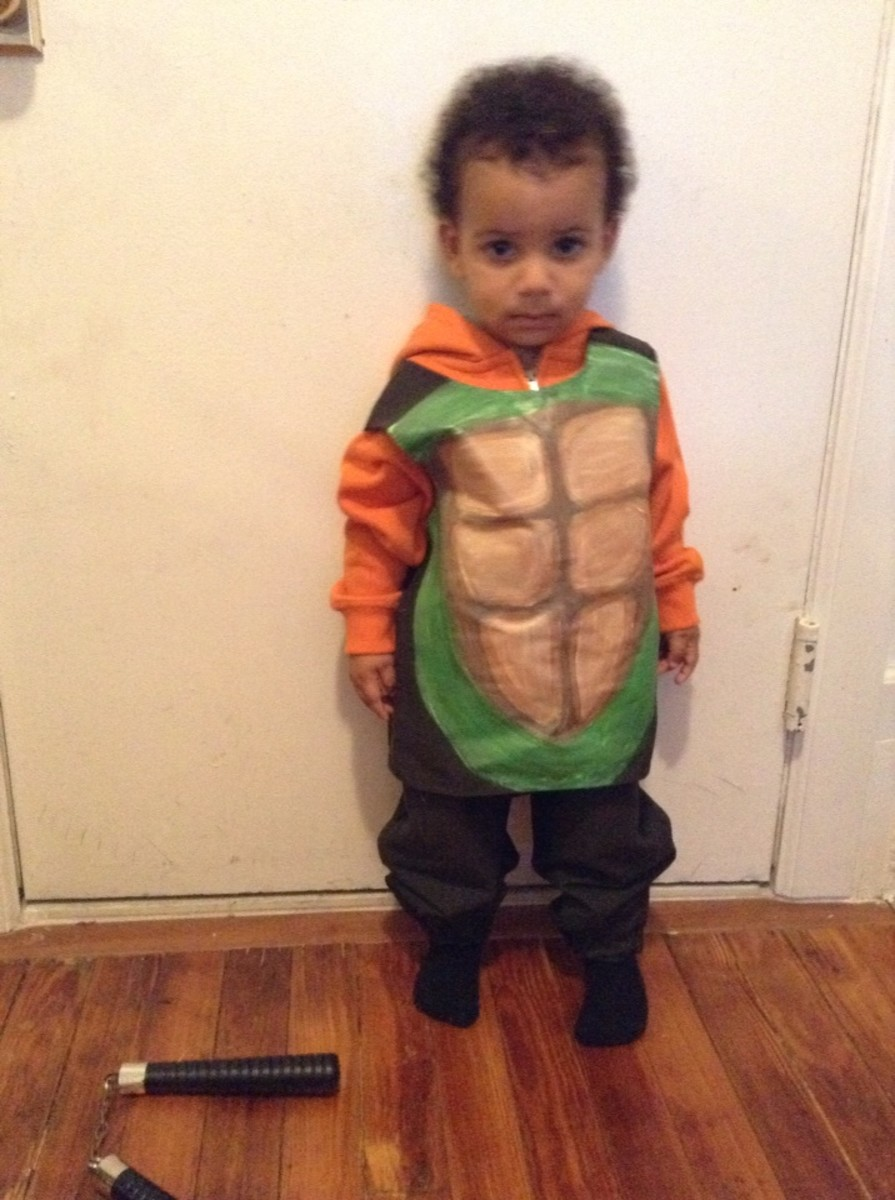 Toddler Mikey the Ninja Turtle WIP